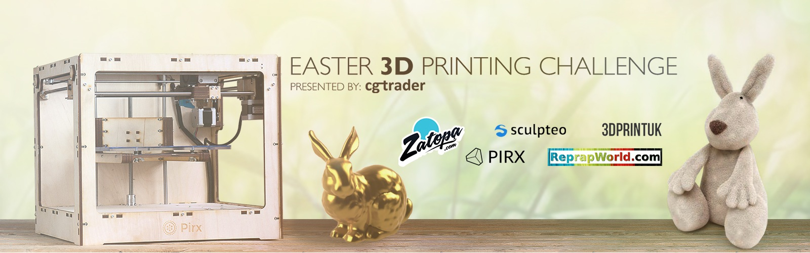 Easter 3D Printing Challenge