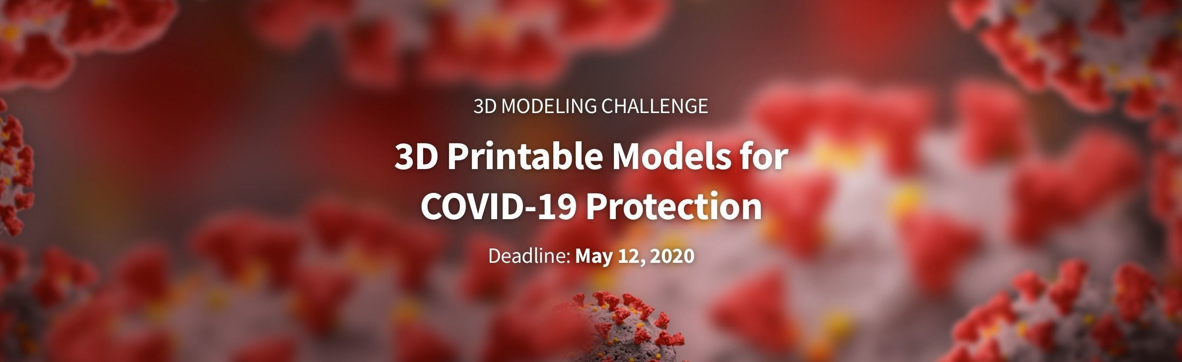 3D Print Challenge: Resources for COVID-19 Protection