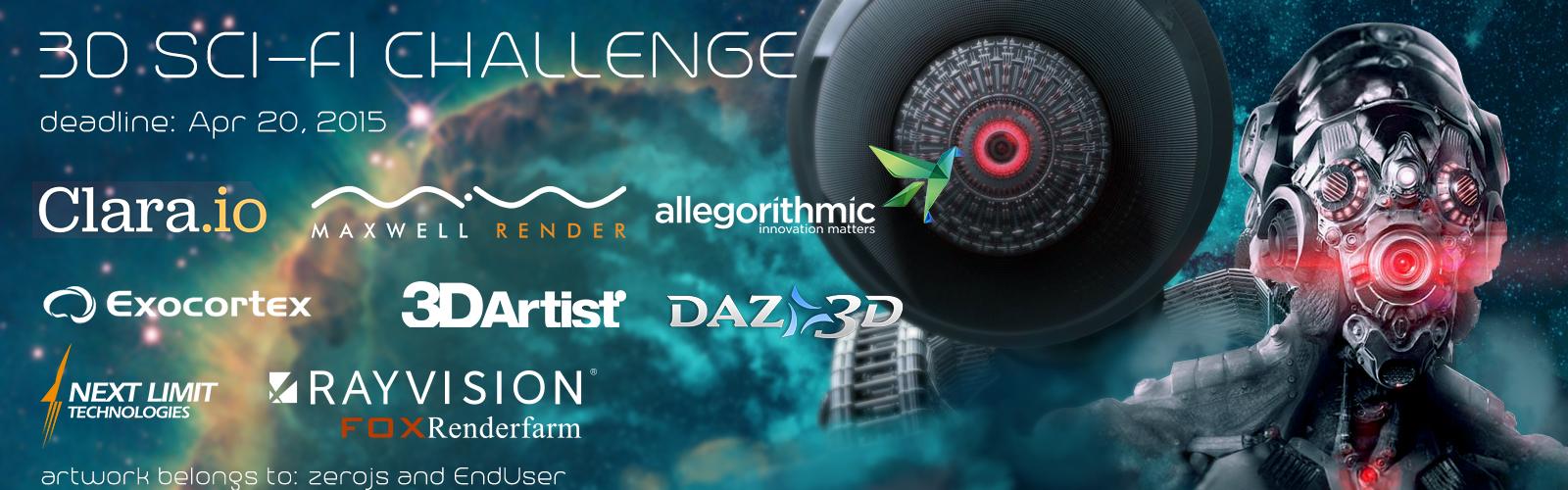 3D Sci-Fi Challenge