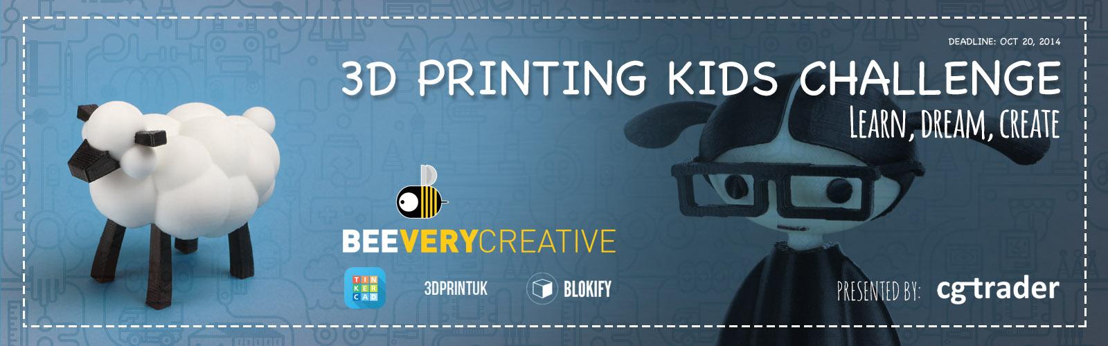 3D Printing Kids Challenge
