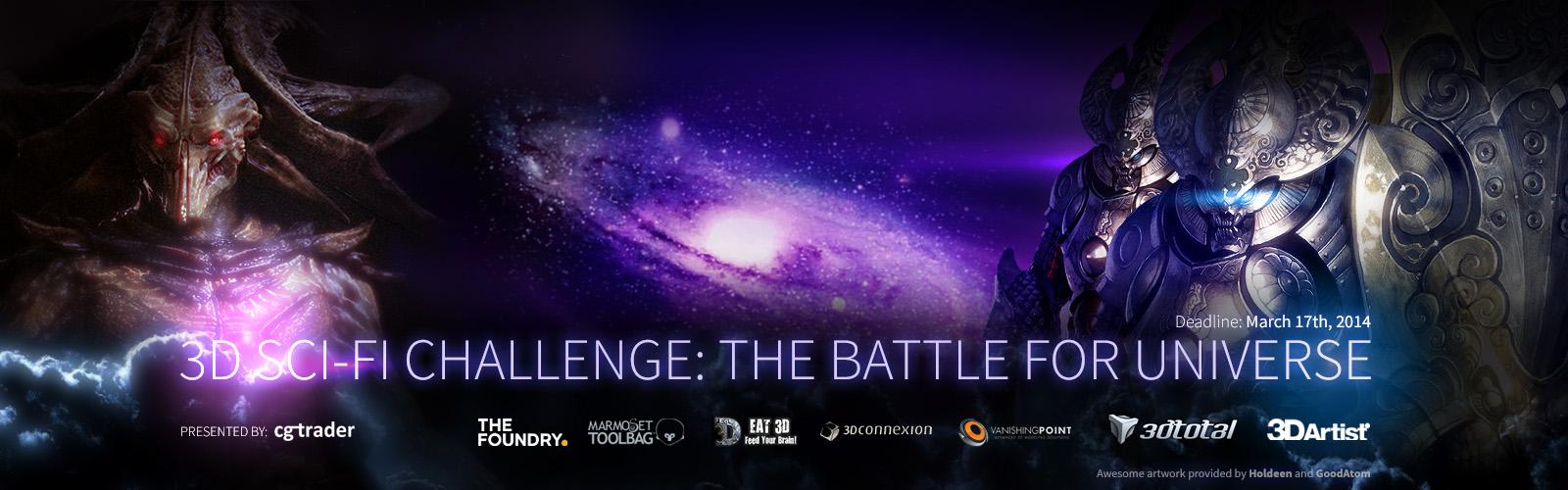 3D SciFi Challenge