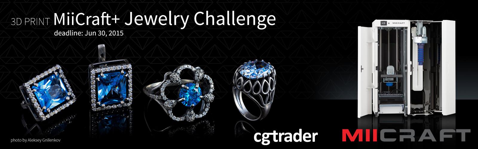 3D Print Miicraft+ Jewelry Challenge