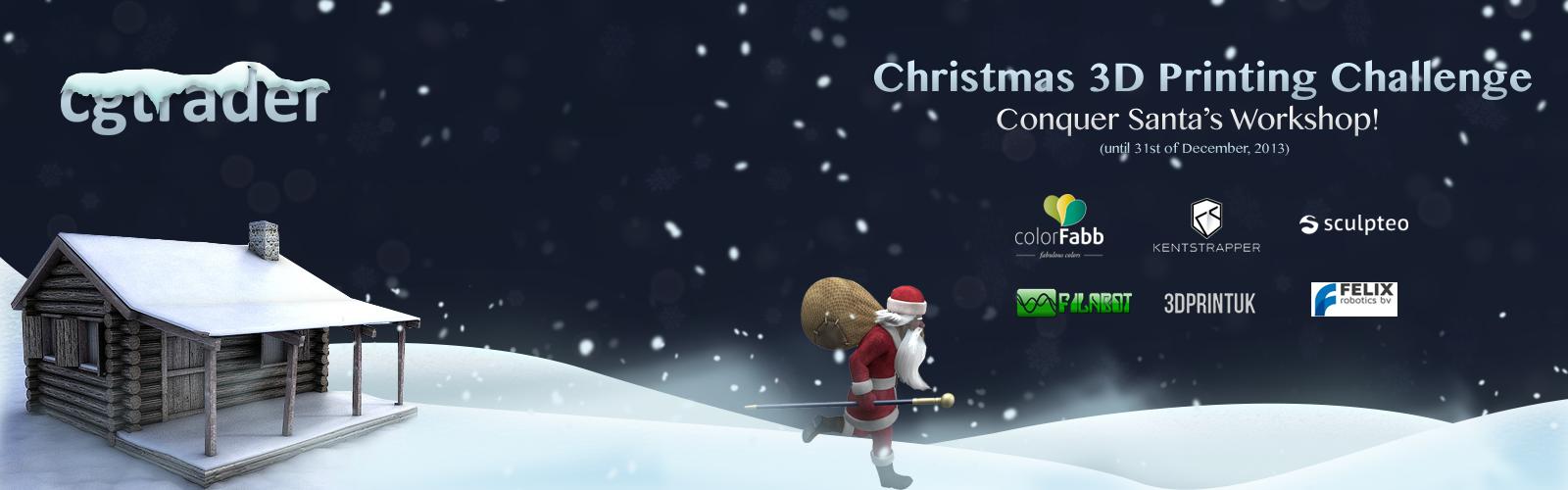 Christmas 3D Printing Challenge