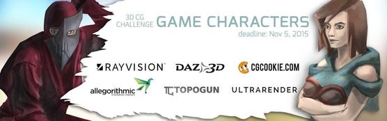 CG Game Character Challenge