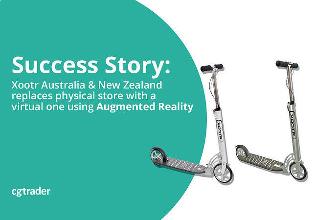 Xootr ANZ replaces physical store with a virtual one using Augmented Reality