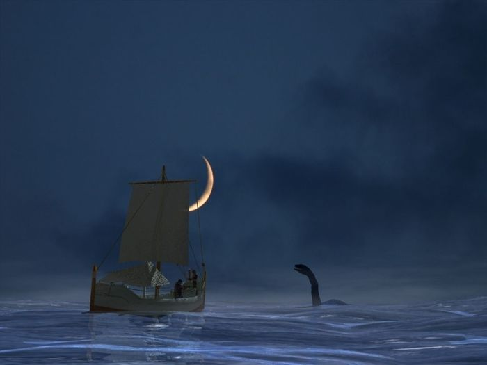 A Nessie in the night