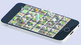 iPhone city