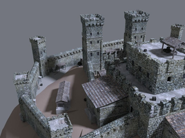 Game ready castle