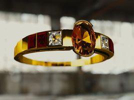 Ring Art Deco