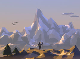 Trip To The Mountains by Mark Rudolph