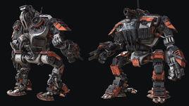Ragnarok Heavy Mech by Keriem Dijksma