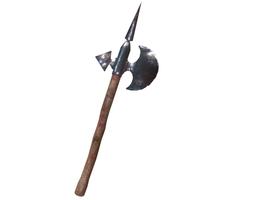 Medieval Axe Halberd