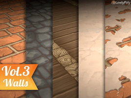 Walls Vol.3 - Hand Painted Texture Pack
