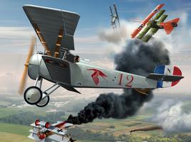 Airplane Nieuport type 17c-1