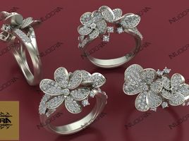 Flower Ring by Nudora Jewellery