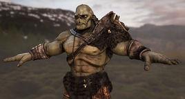 Troll Creature Model