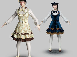 Lolita Fashion Models