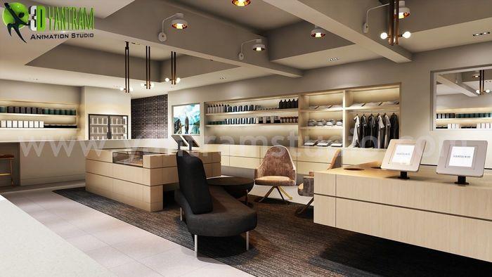Shop Interior Design Ideas | 3d Interior Modeling By Yantram Architectural  Design Studio   New York, USA