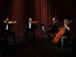 String quartet ready