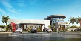3D ArchitecturalRendering of Motel