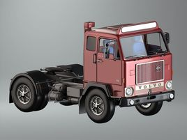 Volvo F88 low poly