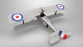 Nieuport 17 low poly model