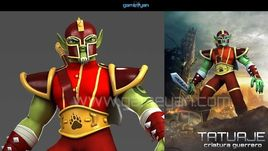Minotorc Warrior Low Poly Character Modeling by Gameyan Character Design Studio - New York, USA