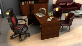 Office rendered in Vray