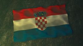 Crotia 3D flag Design