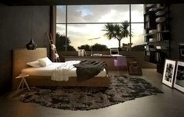 Interior 3D Rendering Services Zurich, Switzerland for Modern Bedroom