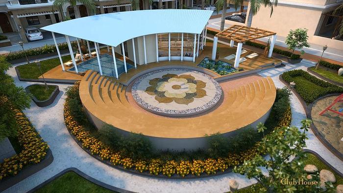 3D Architectural Rendering Of Florenza Villas