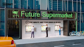 Design of future supermarket (store)