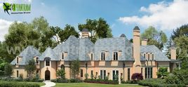The contemporary Home Exterior Design Ideas by Yantram Architectural design studio Los Angeles, USA