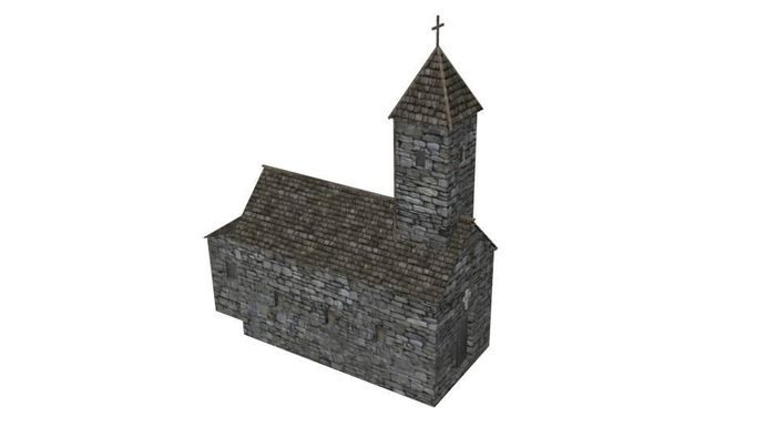 Early medieval building set