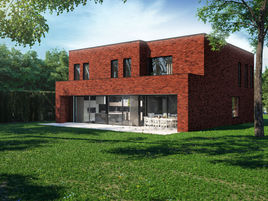 CGI privat house in Belgium