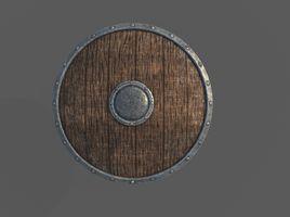 Game Art : Viking Shield