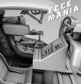 Eccemania Futuristic Car Interior