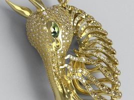 Wild horse pendant