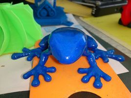 Frog from 3D printer