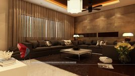 3D Rendering & Designing Of The Rich-class Home Interior