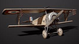 Nieuport 11 WW1