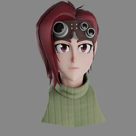 Anime Style Character  - Rose