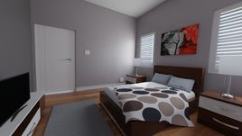Realistic Bedroom Interior