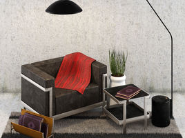Sofa M 3 3 seater with Lamp