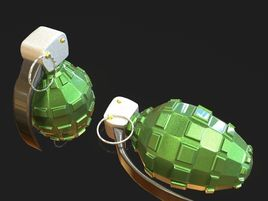 Grenade model for game development