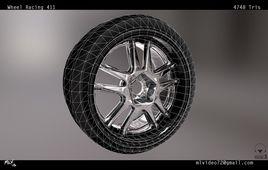 Automotive: Wheel Assembly GTV_411
