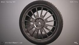 Automotive: Wheel Assembly DTM_009