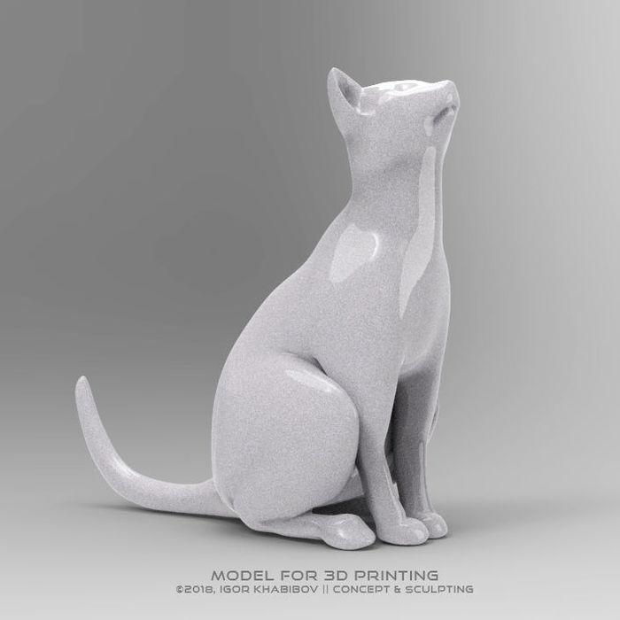 The Cat (3D PRINTING)