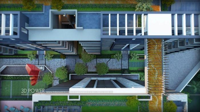 Ultra Modern 3D Rendering Of An Apartment