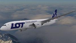 Boeing 787 Dreamliner LOT airlines